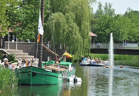LIST Gruppe Verantwortung Engagement Jantje Das schwimmende Denkmal Nordhorns
