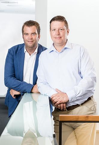LIST Gruppe LIST Develop Residential  Alexander Micheel und Raoul P. Schmid, geschäftsführender Gesellschafter
