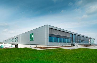List Gruppe Logistikzentrum Hamburg